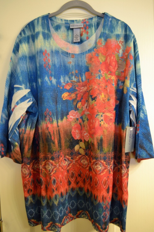 shimmery T-shirt
