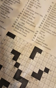 crosswords, crossword puzzles, New York Times Sunday crosswords