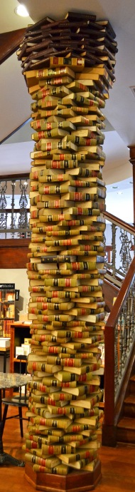 pillar of books
