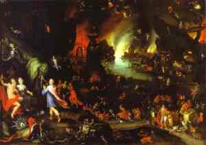 Image: Jan Breughel the elder: Orpheus in the Underworld